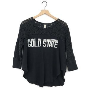 Free People We The Free Gold State Graphic Tee S